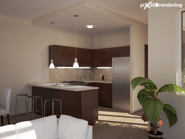 Kitchen itself, final version