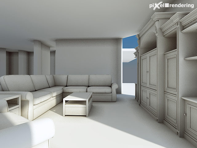 1st preview of the interior model