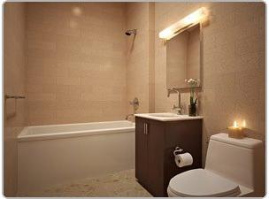 Bathroom in condo
