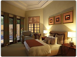 Bedroom in Florida home