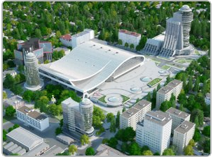 Ice Palace in Rostov-on-Don