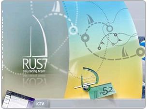 Site design RUS7 Sail Racing Team